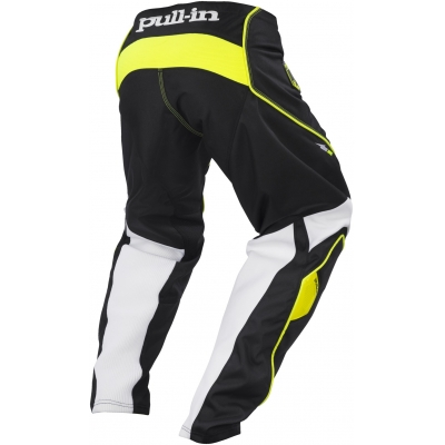 PULL-IN kalhoty CHALLENGER 17 black/neon yellow