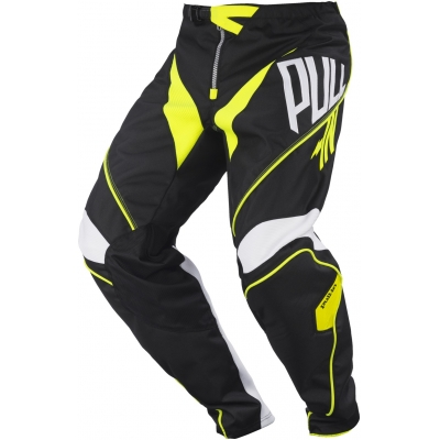 PULL-IN kalhoty CHALLENGER 17 dětské black/neon yellow