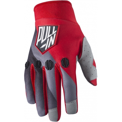 PULL-IN rukavice RACE 17 black/grey/red