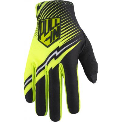 PULL-IN rukavice CHALLENGER 17 black/neon yellow