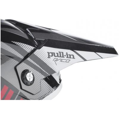 PULL-IN kšilt grey/black/red