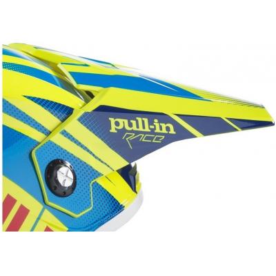 PULL-IN kšilt dětský neon yellow/cyan