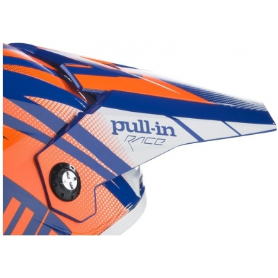 PULL-IN kšilt dětský blue/neon orange