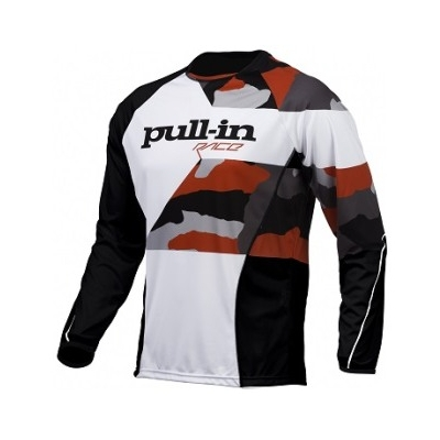 PULL-IN dres FIGHTER 16 camo black/white/red