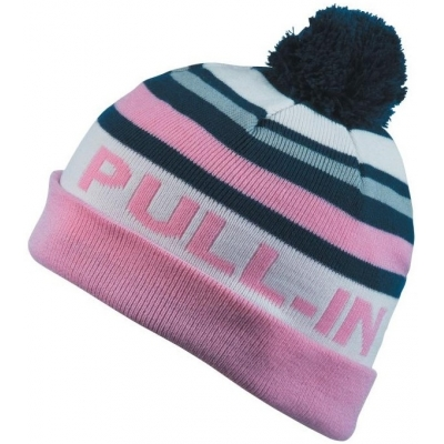 PULL-IN čepice STRIPES 15 pink/navy