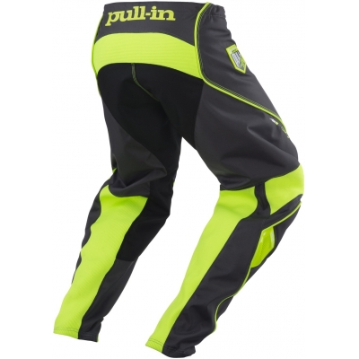 PULL-IN nohavice CHALLENGER 18 grey / lime