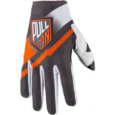 PULL-IN rukavice CHALLENGER 18 detské grey / orange