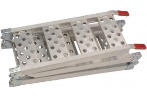 QTECH nájezdová rampa hliníková skládací třídílná