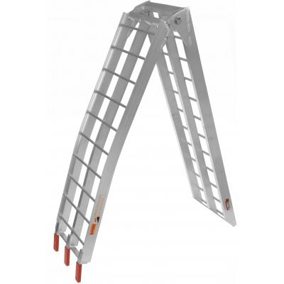 QTECH nájezdová rampa MX hliníková skládací široká