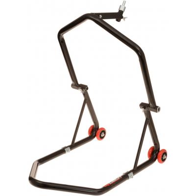 QTECH stojan na motocykl přední (do brýlí) / zadní black