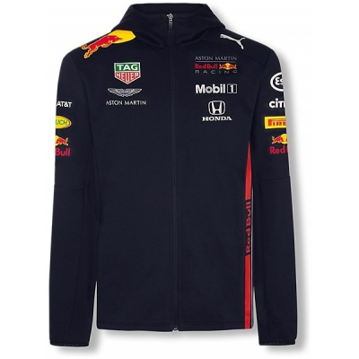 REDBULL mikina TEAM AMRBR blue/red