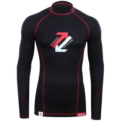 REDLINE tričko dlhý rukáv OUTLAST Black