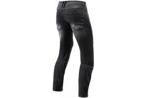 REVIT kalhoty jeans MOTO TF black