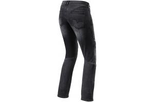 REVIT nohavice jeans MOTO TF dámske black