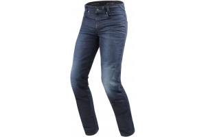 REVIT kalhoty jeans VENDOME 2 RF Long dark blue
