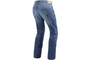 REVIT kalhoty jeans PHILLY 2 LF Long medium blue