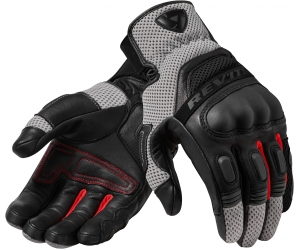 REVIT rukavice DIRT 3 black/red