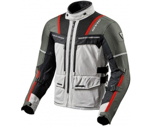 REVIT bunda OFFTRACK silver/red
