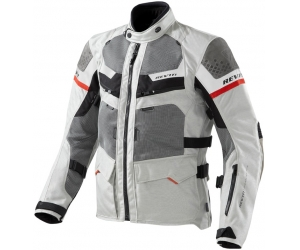 REVIT bunda CAYENNE PRO light grey / red