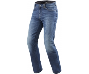 REVIT kalhoty jeans PHILLY 2 LF Short medium blue