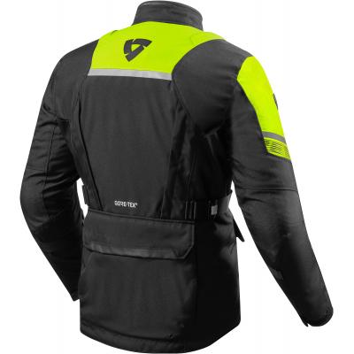 REVIT bunda NEPTUNE 2 GTX black/neon yellow