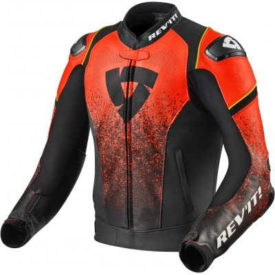 REVIT bunda QUANTUM black/neon red