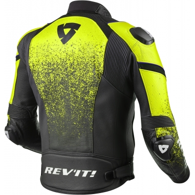 REVIT bunda QUANTUM black/neon yellow