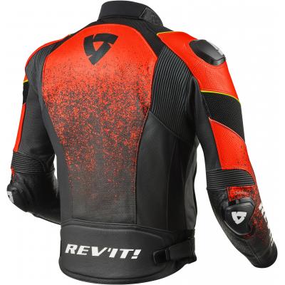 REVIT bunda QUANTUM Air black/neon red