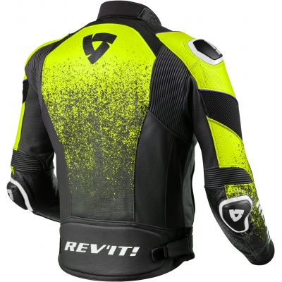 REVIT bunda QUANTUM Air black/neon yellow