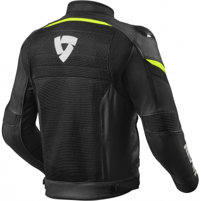 REVIT bunda MANTIS black/neon yellow