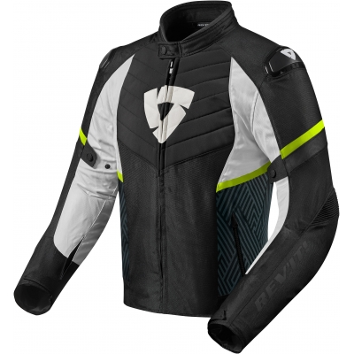 REVIT bunda ARC H2O black/neon yellow