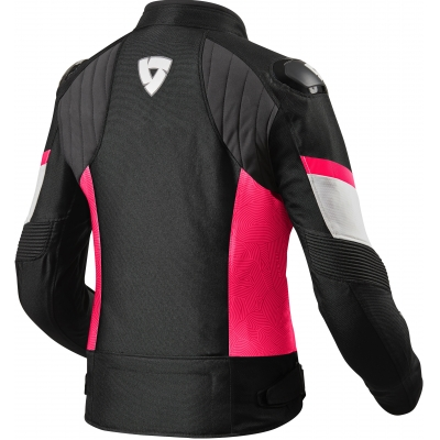 REVIT bunda ARC H2O dámska black/fuchsia