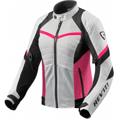 REVIT bunda ARC AIR dámska white/fuchsia