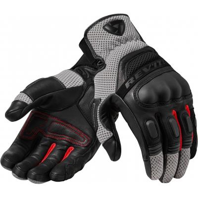 REVIT rukavice DIRT 3 black/red