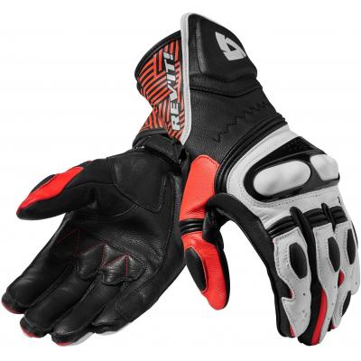REVIT rukavice METIS black/red