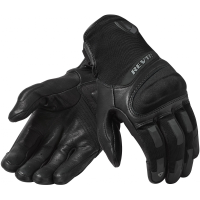 REVIT rukavice STRIKER 3 black/black