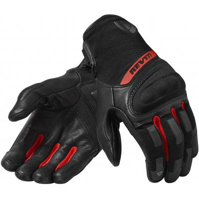 REVIT rukavice STRIKER 3 black/red