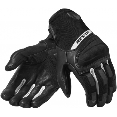 REVIT rukavice STRIKER 3 black/white