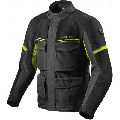 REVIT bunda OUTBACK 3 black/neon yellow
