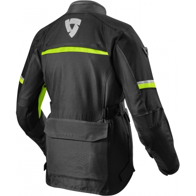 REVIT bunda OUTBACK 3 dámská black/neon yellow