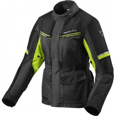 REVIT bunda OUTBACK 3 dámska black/neon yellow