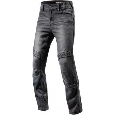 REVIT kalhoty jeans MOTO TF Long black