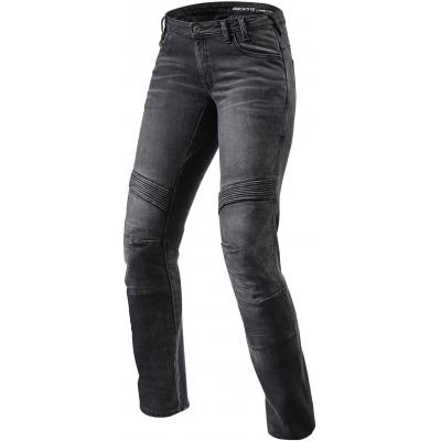 REVIT kalhoty jeans MOTO TF dámské black