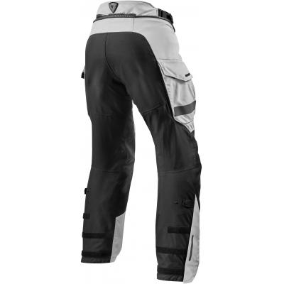 REVIT nohavice OFFTRACK Short black / silver