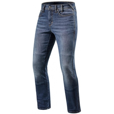 REVIT kalhoty jeans BRENTWOOD SF Short light blue