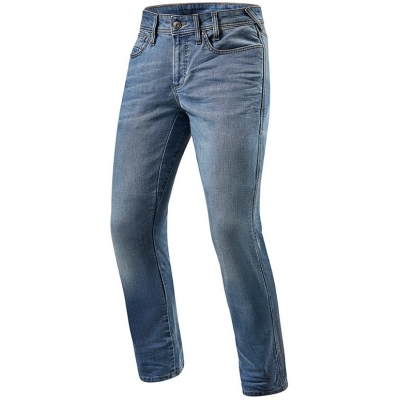 REVIT kalhoty jeans BRENTWOOD SF Short classic blue