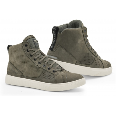 REVIT boty ARROW olive green/white