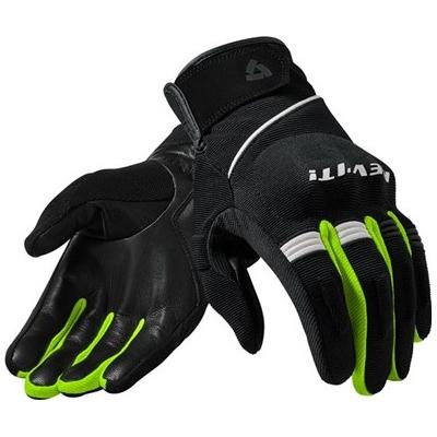 REVIT rukavice MOSCA black/neon yellow