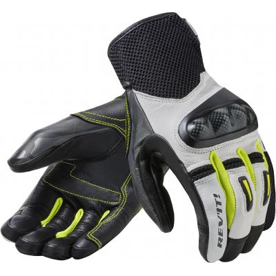 REVIT rukavice PRIME white/yellow