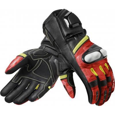 REVIT rukavice LEAGUE black / red
